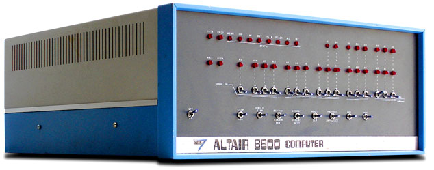 Altair 8800 Front Panel