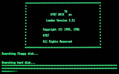 At Amp T Unix Pc