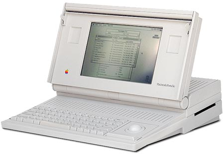 macintosh portable 5120 5126 computer